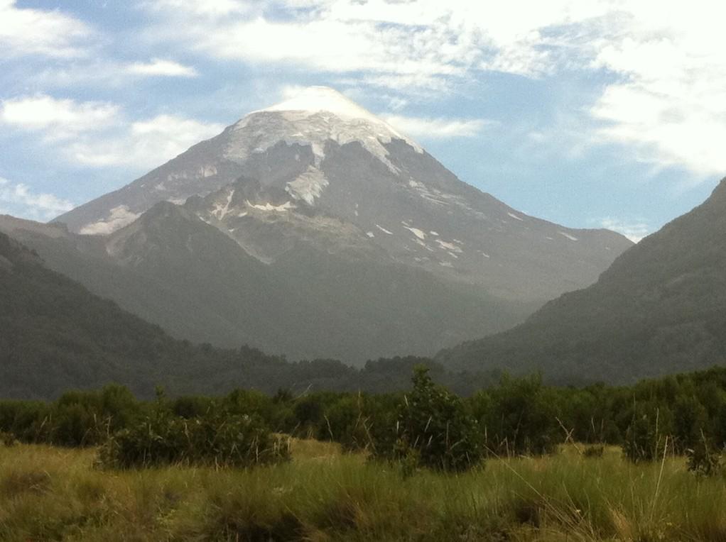 Vulkan Lanín bei Junín de los Andes