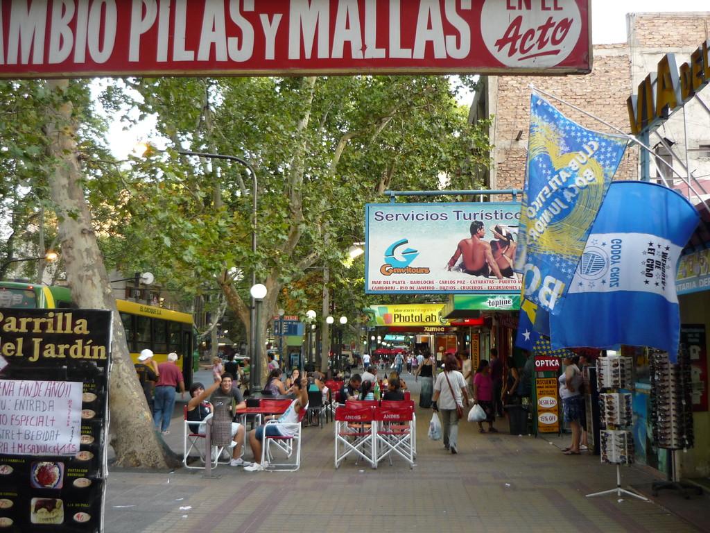 Die Strassen von Mendoza