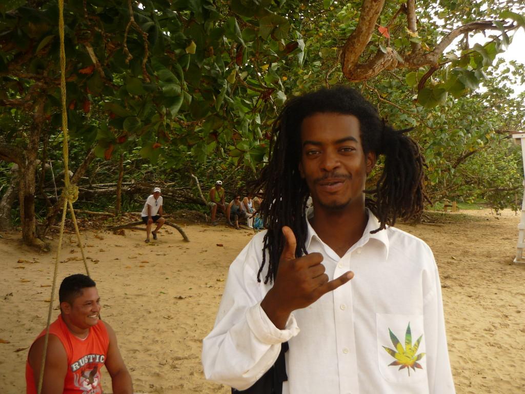Luiz, unser Guide