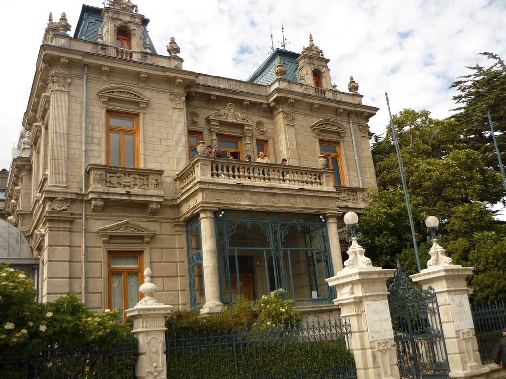 Der Palacio Sarah Braun, gebaut 1874 (Abkoemmling einer adligen russischen Familie)
