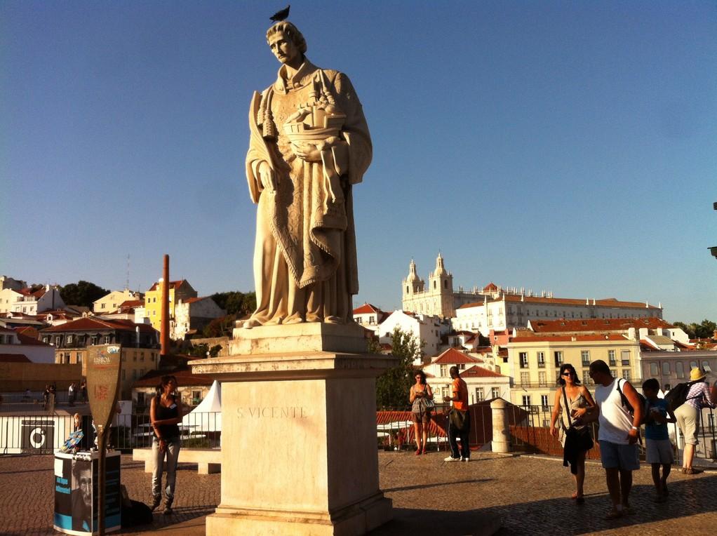 Heilige gibt es unzaehlige in Lissabon