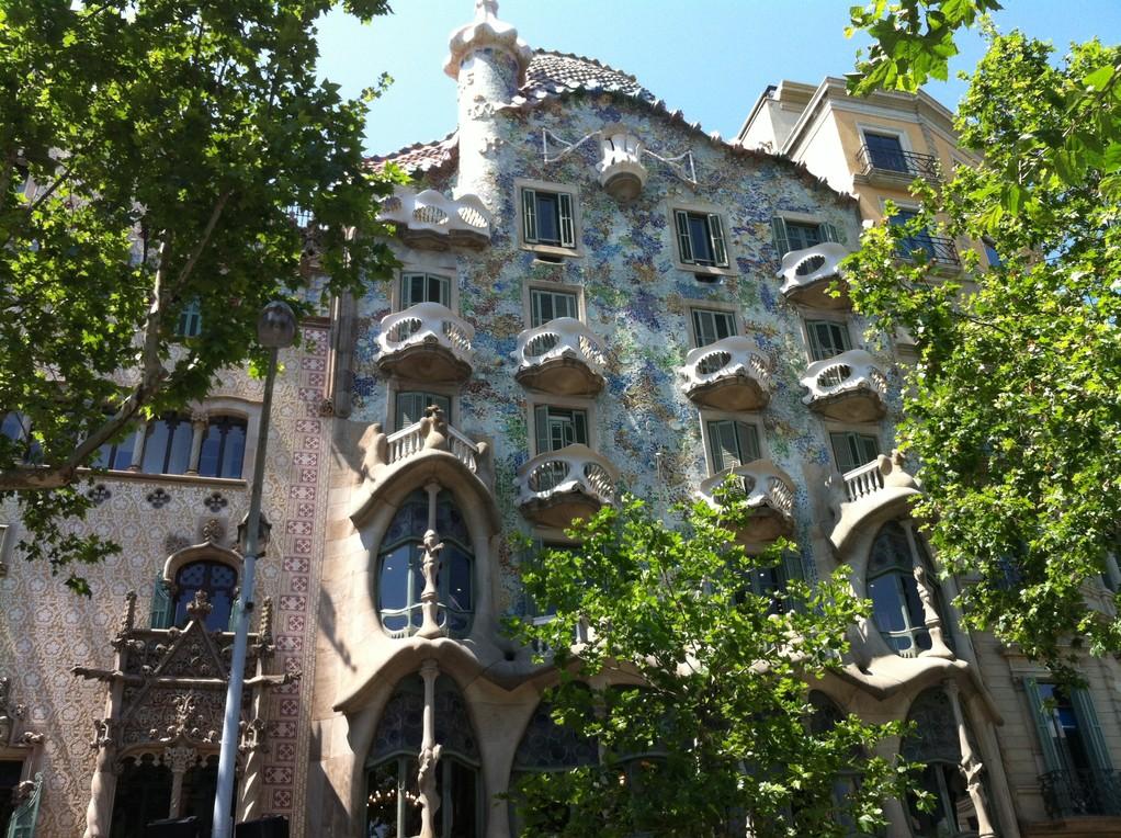 "Das Gaudi-Haus im ""Block of discord""..."