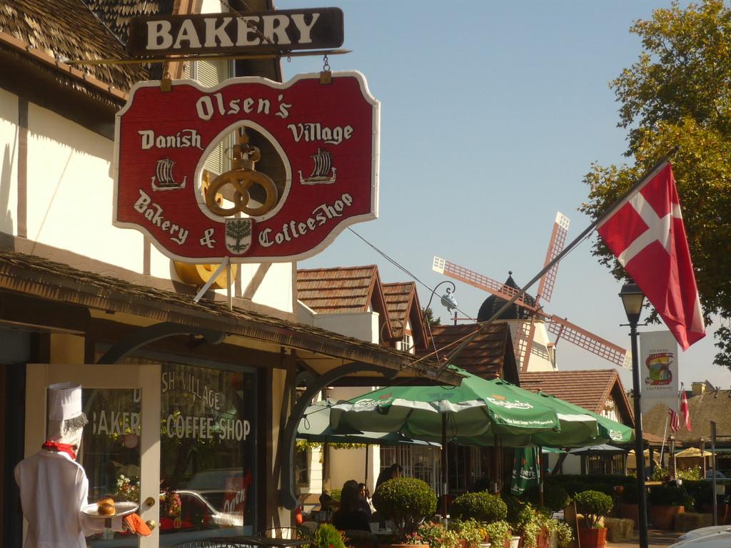 Solvang ist eine daenische Stadt mitten in Kalifornien