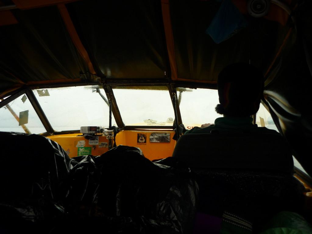 Unterwegs mit dem Wasser Taxi