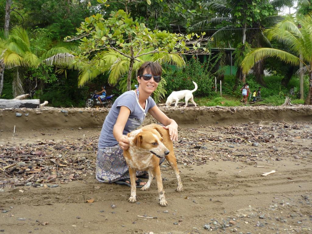 Unsere treue Begleiterin, Gira, Juans Hund