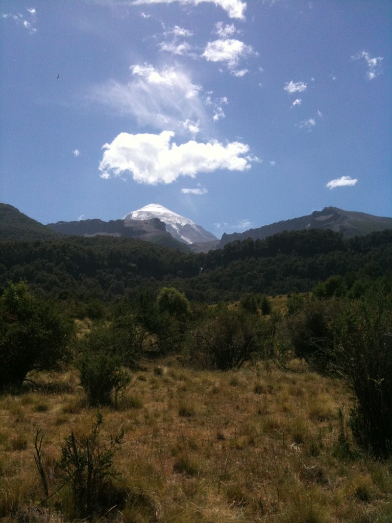 Der perfekte Vulkan Lanín
