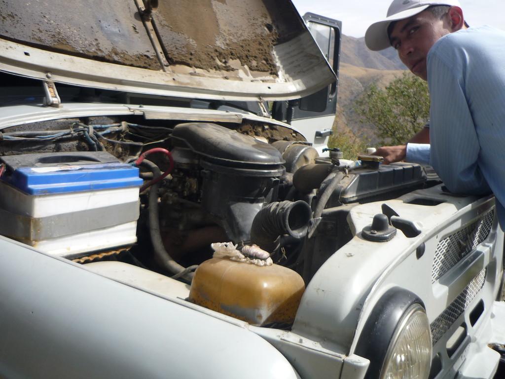 Unterwegs mit dem Jeep zum Aksu Canyon
