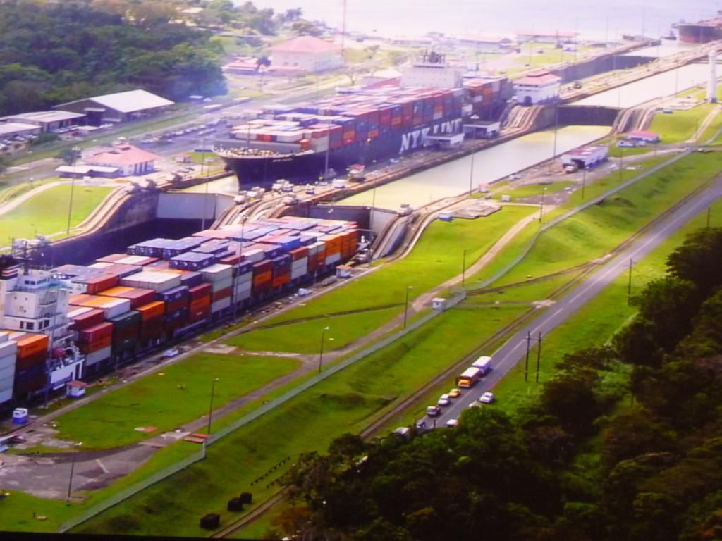 Besuch des Panama Kanals