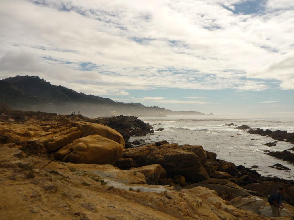 Ausflug zum Point Lobos, suedlich von Mountain View