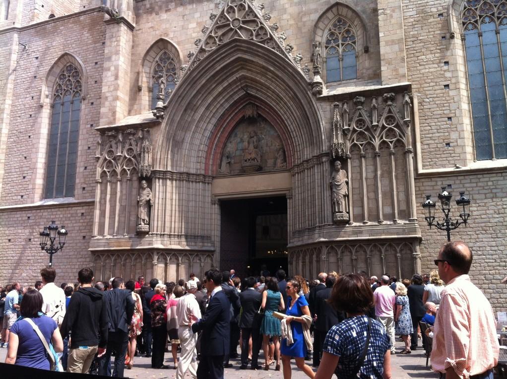 Die Kirche Santa Maria del Mar