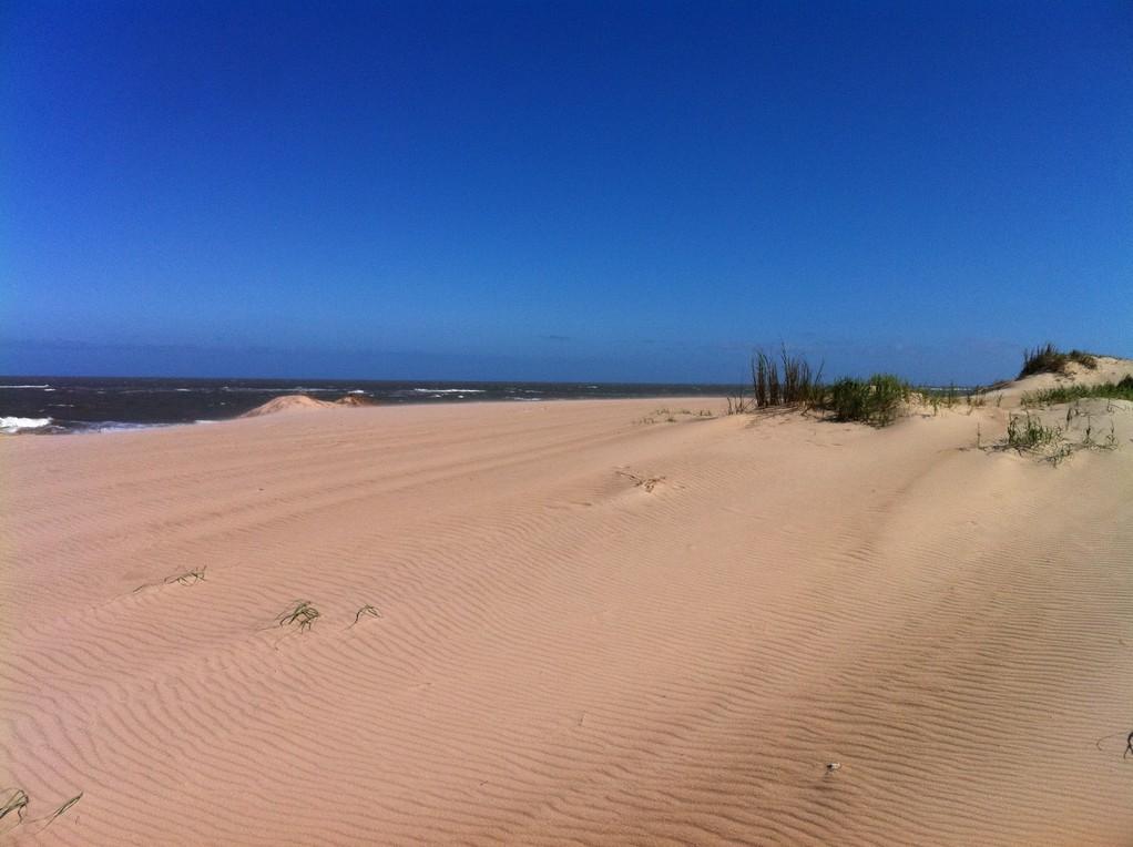 """Punta del Diablo, Playa de la Viuda - para nosotros """"el paraiso"""""""
