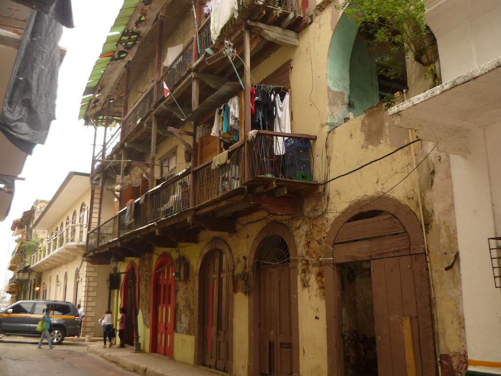 Casco Viejo, der Stadtteil Panamas, der ab 1619 gebaut wurde...
