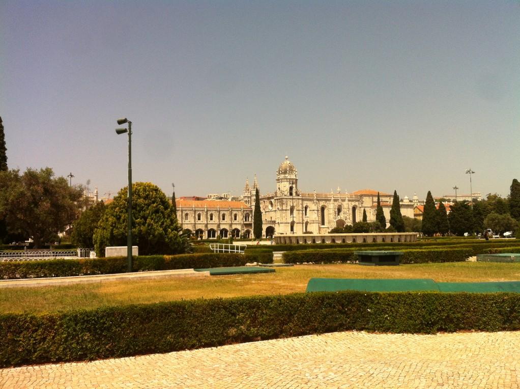 Jeromes Kloster aus der Ferne
