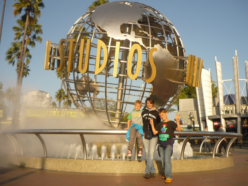 Die Universal Studios wo Hollywood Filme gedreht werden