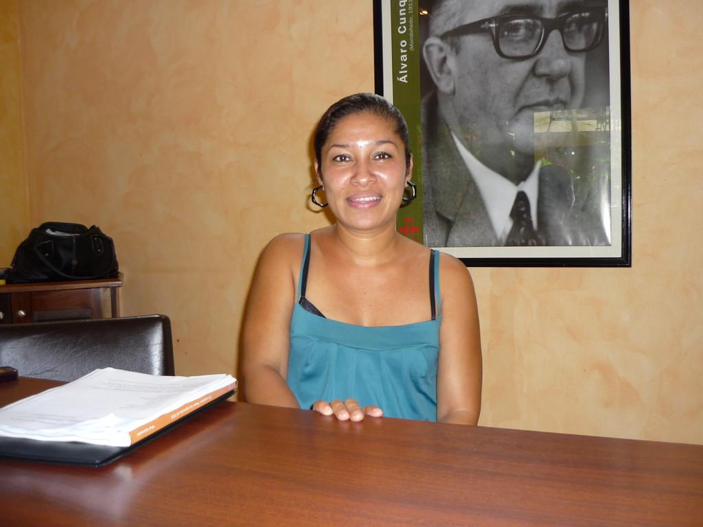 Marina, unsere Lehrerin
