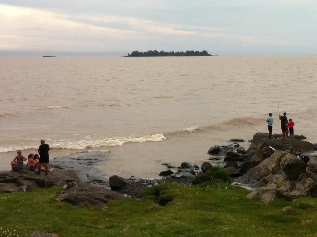 Es ist nicht das Meer, es ist der breite Rio Plata