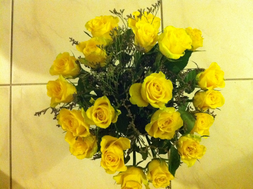 Merci Anna und Mirjam für die schönen Blumen!