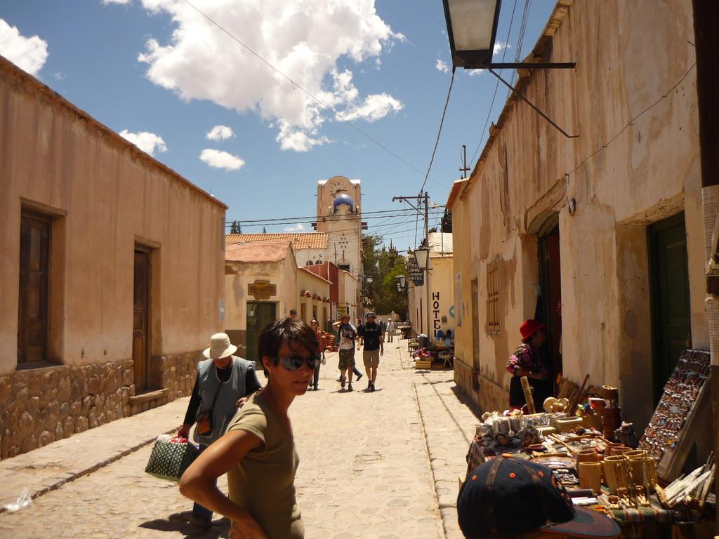Das kleine Dorf Humahuaca