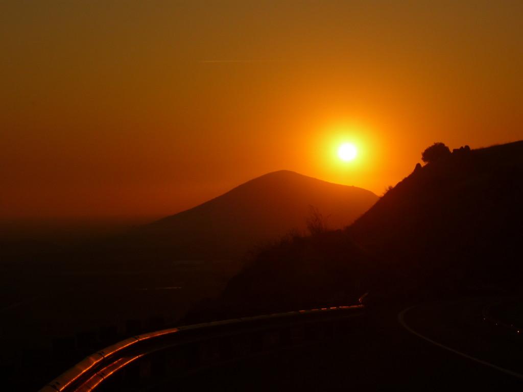 Sonnenuntergang im Sequoia