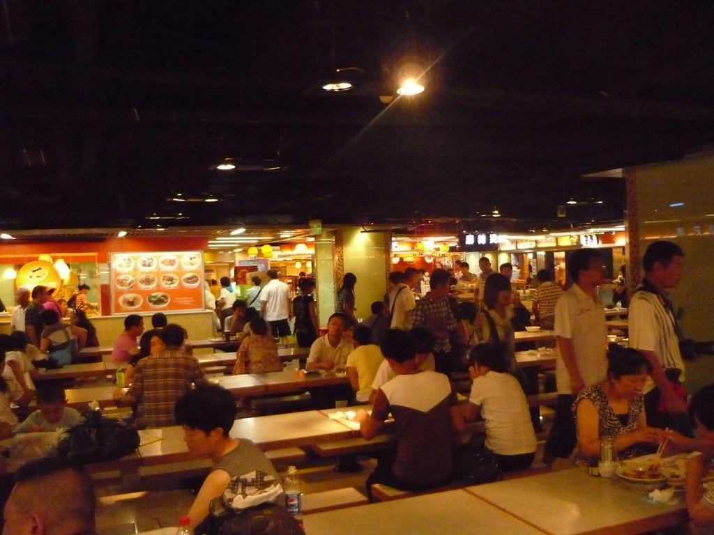 ... im chinesischen Foodcourt