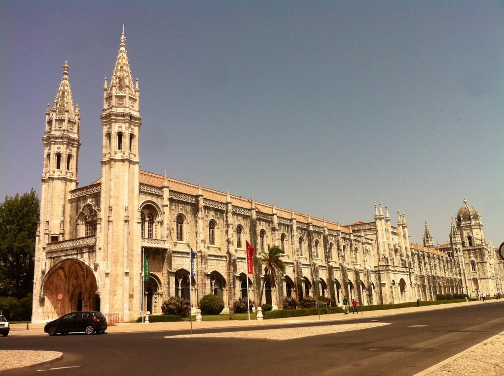 """Das """"Mosteiro dos Jerónimos"""", der Hoehepunkt manuelinischer Architektur"""