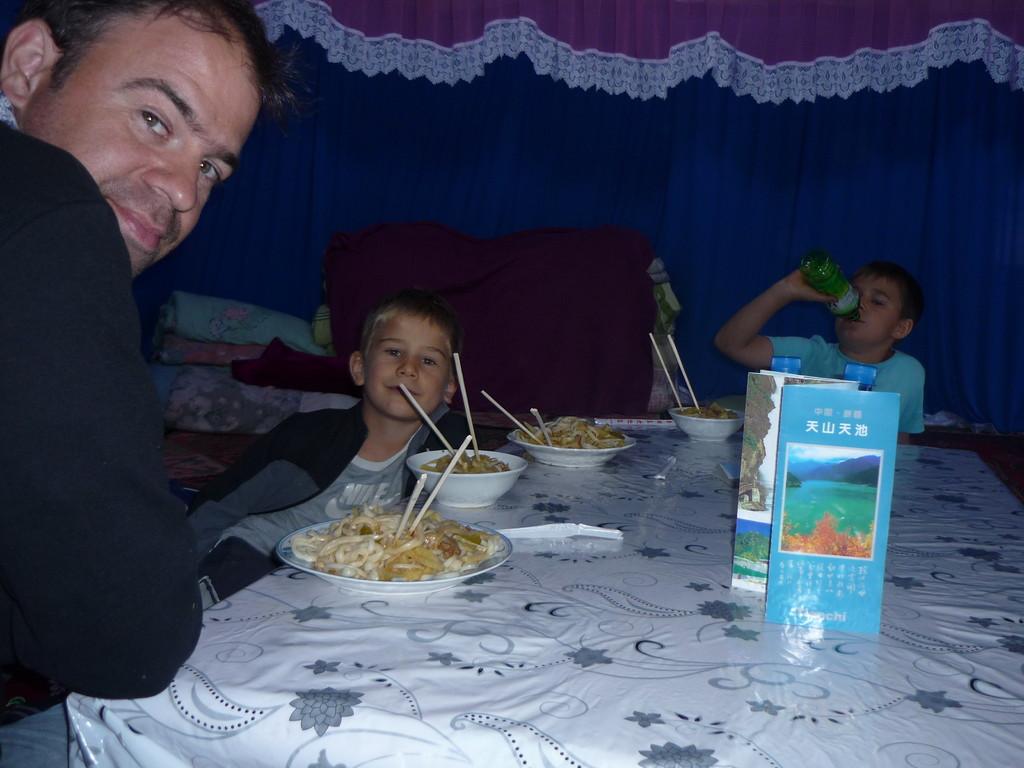 Dinner in der Jurte