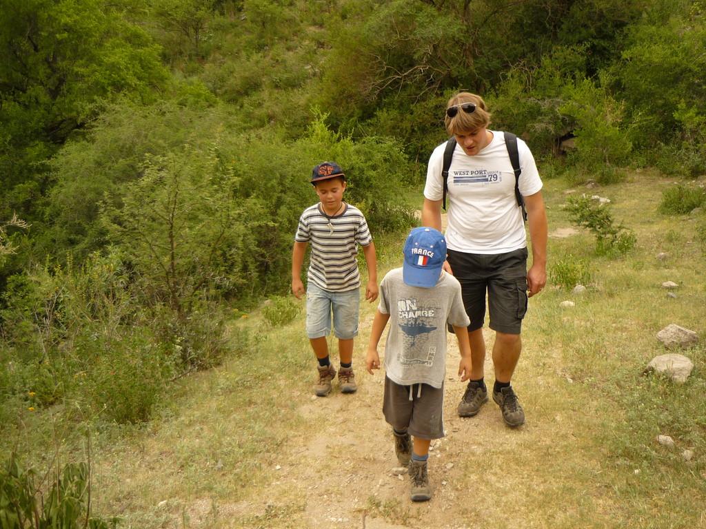 Unterwegs am Rio Ceballos