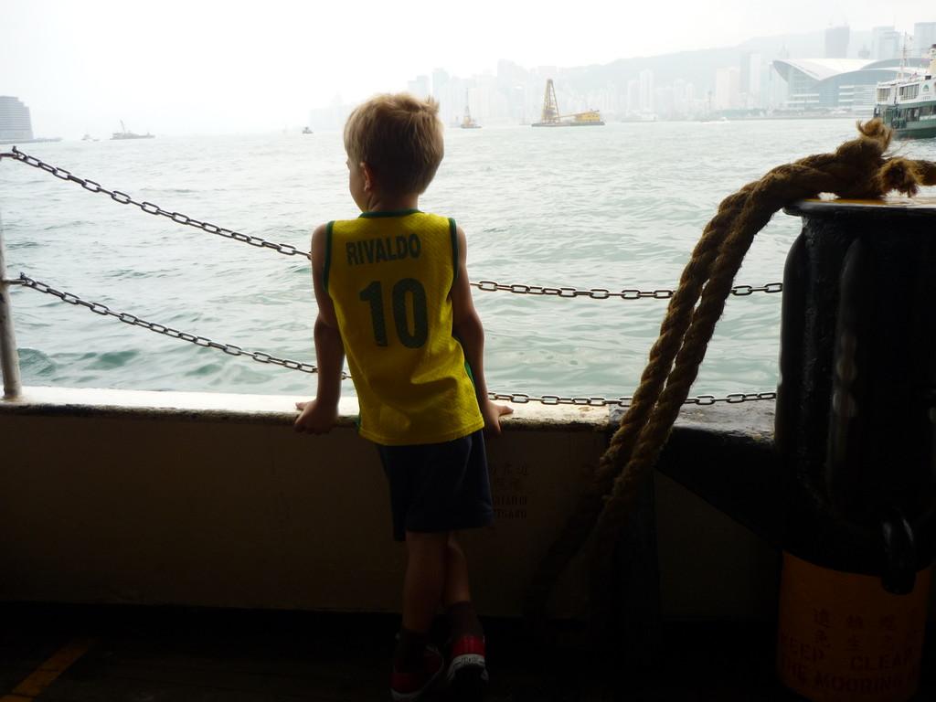 Genuss auf der Ueberfahrt mit der Star Ferry