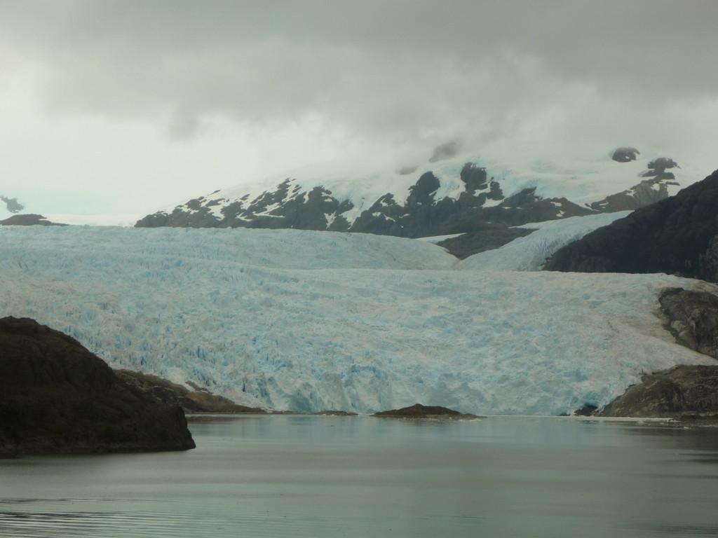 ...das Nahen des Gletschers