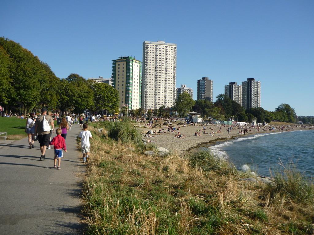 Second Beach im Stanley Park