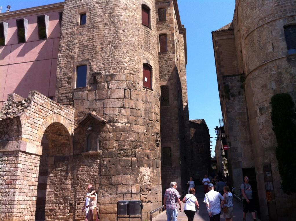 Teile der römischen Stadtmauer