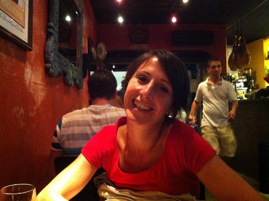 ...in einer spanischen Bodega im chiquen Stadtteil Chiado