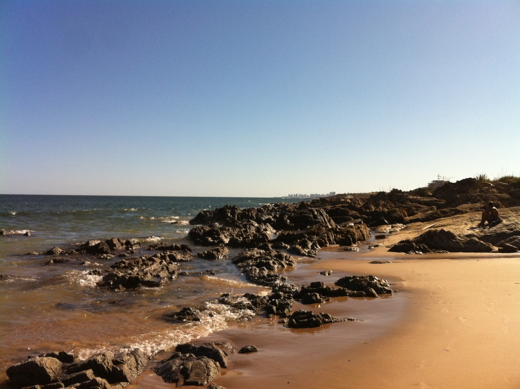 Der Strand von La Barra in Punta del Este