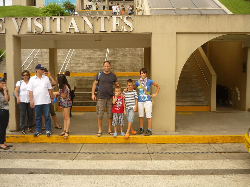 Das Besucher Zentrum bei den Miraflores Schleusen