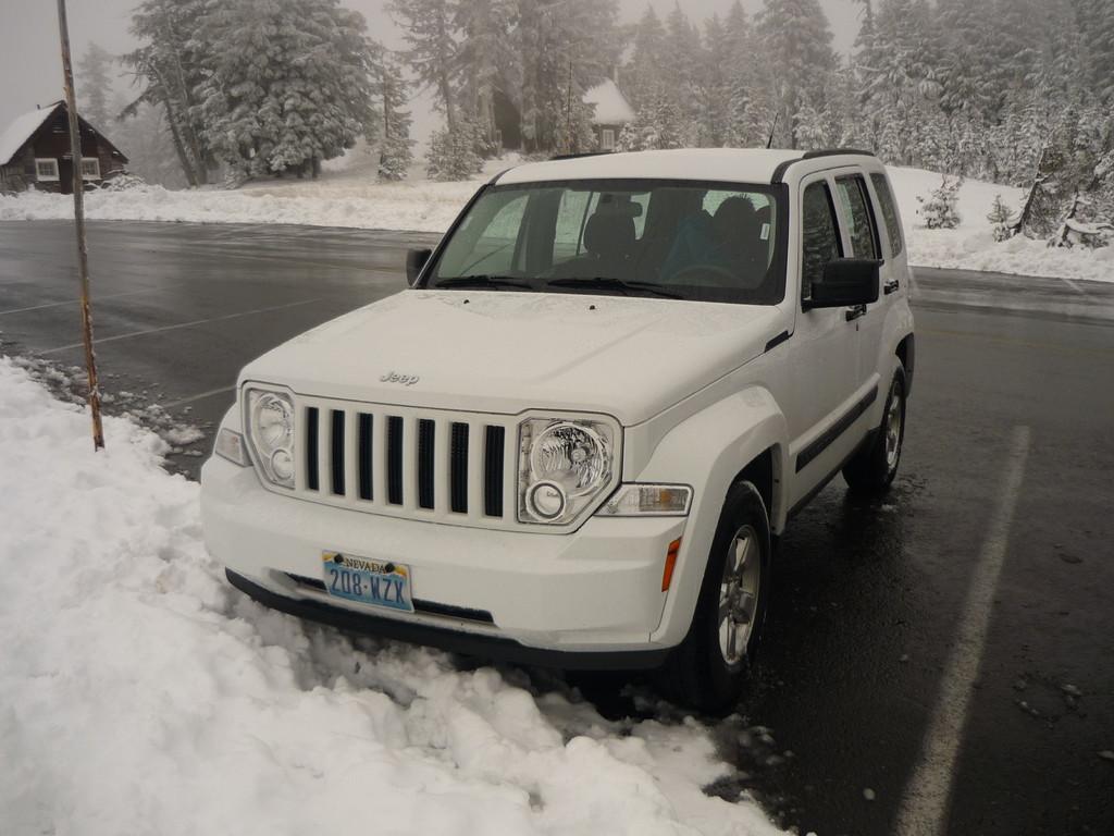 Zum Glueck hatten wir einen Jeep!!