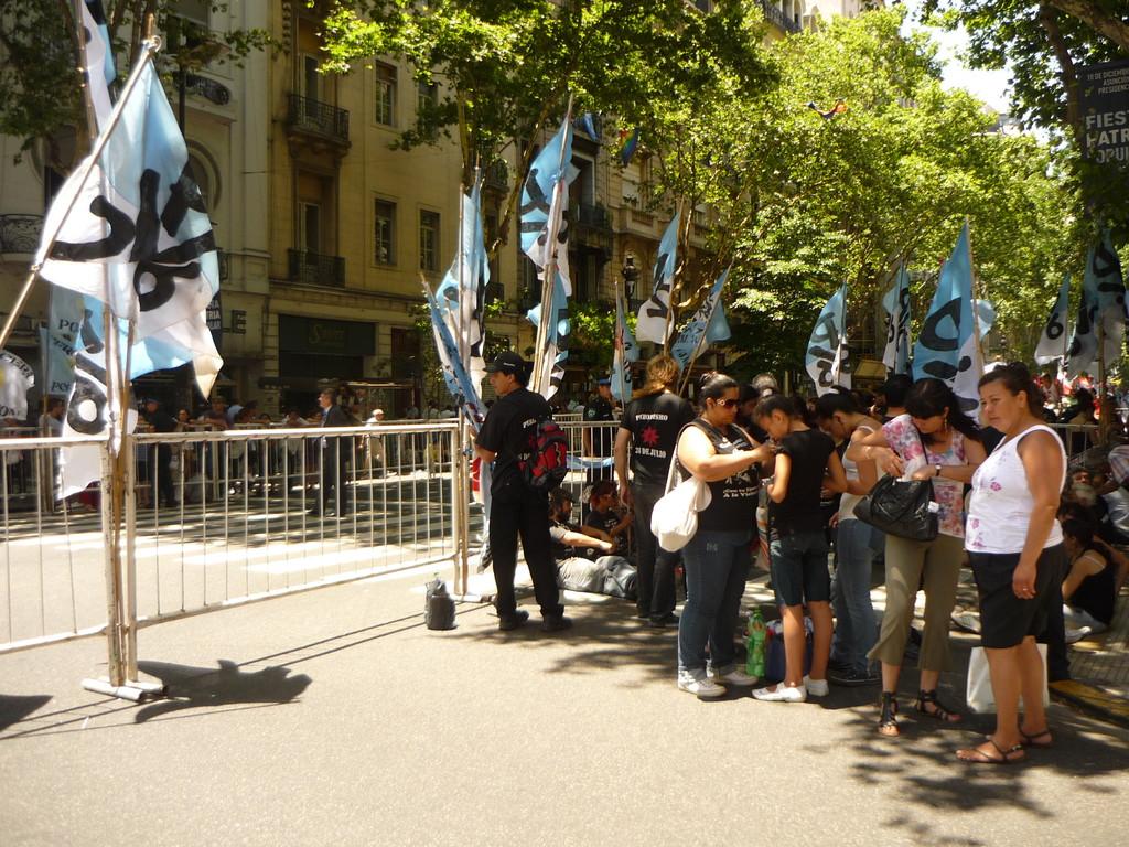 Cristina Kirchner wird an diesem Tag in BA zu einer 2. Amtszeit vereidigt