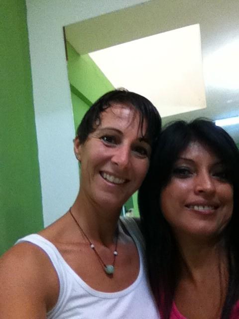 Ruth, die peruanische Coiffeuse, die mein Haar auf Vordermann trimmt