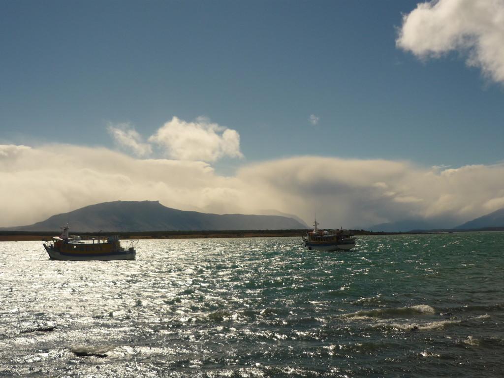 Der Hafen von Puerto Natales
