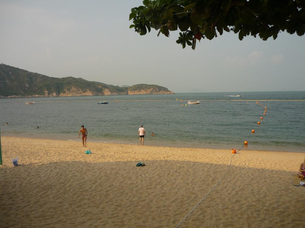 Beach auf der Insel Cheung Chau