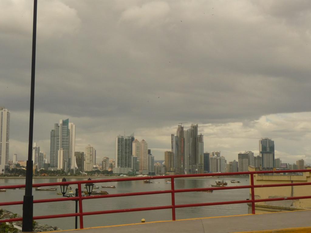 Blick in den neuen Stadtteil Panamas