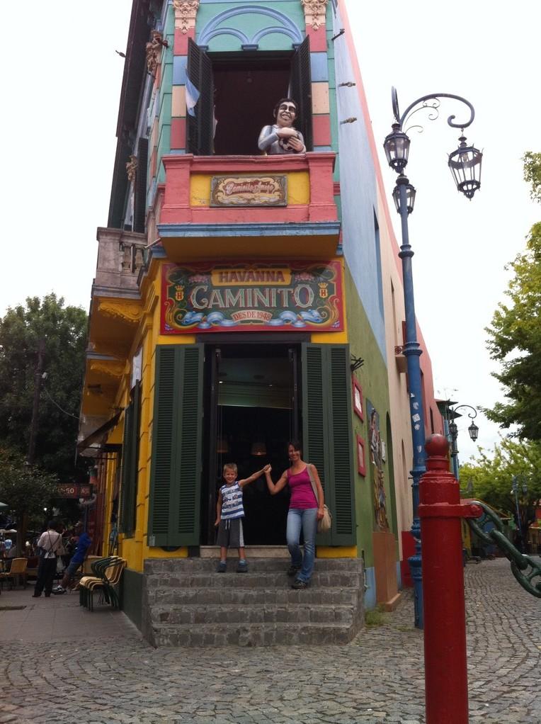 Im Stadtteil Boca: Caminito, ein Museum unter dem Himmel
