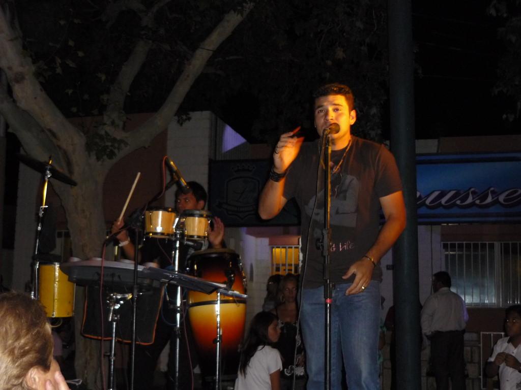 Musik in den Strassen von San Juan