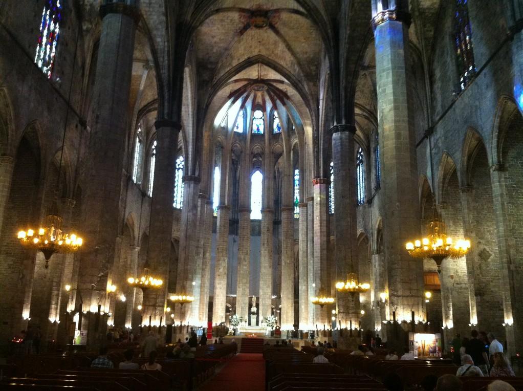 Die Kathedrale des Meeres musste ich wegen Ihrer Schönheit noch einmal besuchen!
