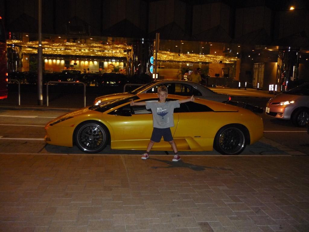 Jerome und sein zukuenftiges Auto