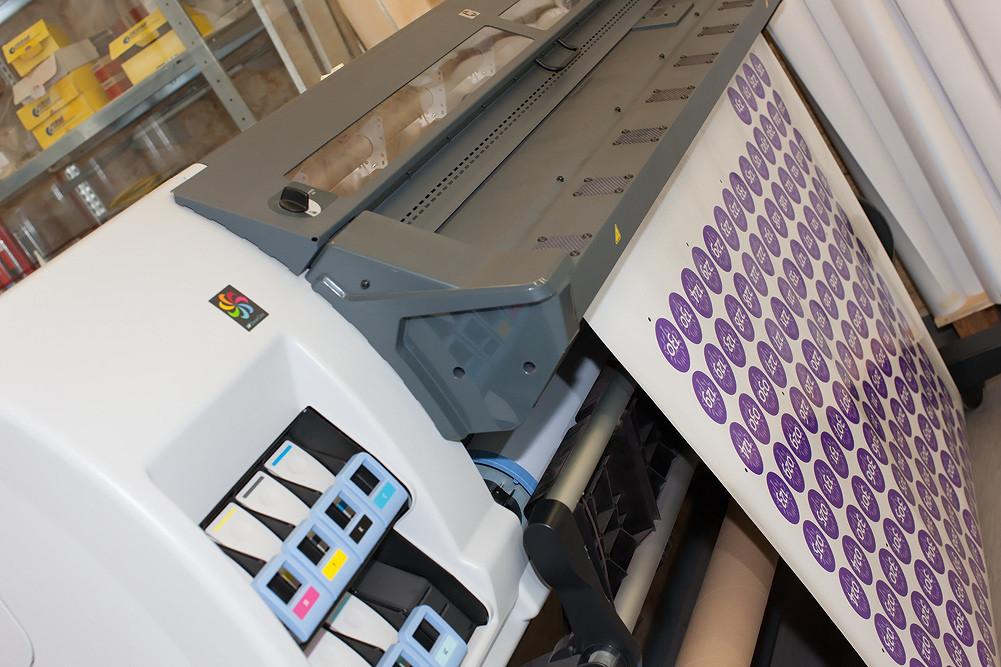Digitaldruck von Aufklebern - in jeder Auflage!