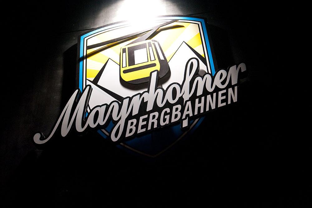 XL-Bergbahn-Beschilderung, Mayrhofner Bergbahnen