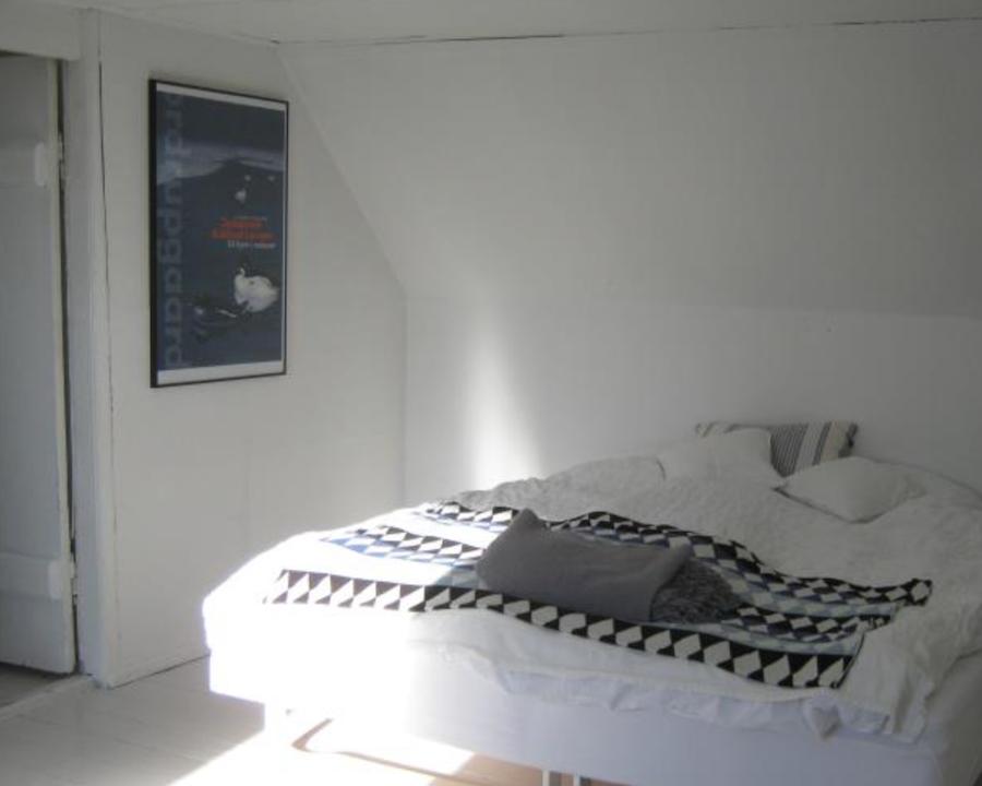 Eins von vier Schlafzimmer