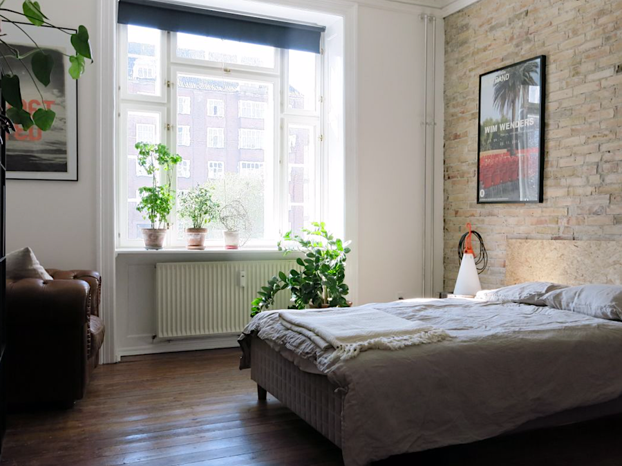 Schlafzimmer 1 in der Østerbro Wohnung