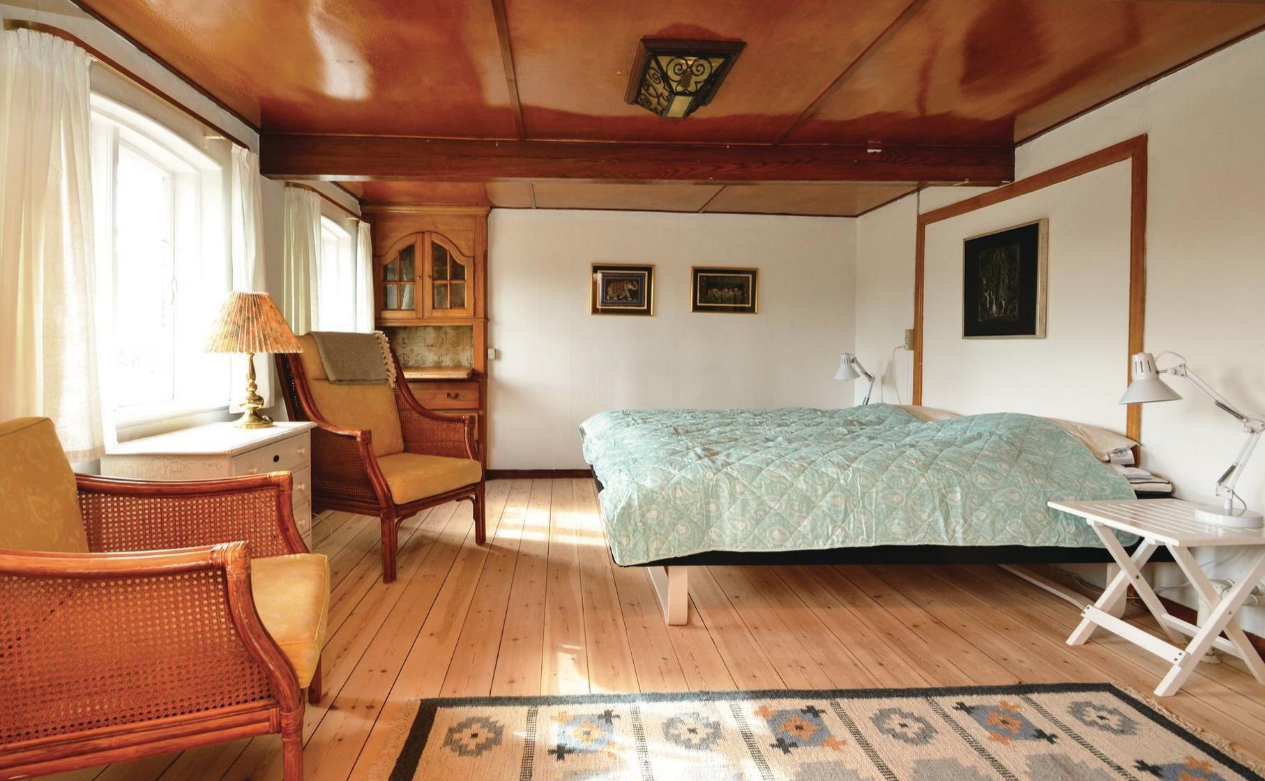 Eins von fünf dejlige Schlafzimmern