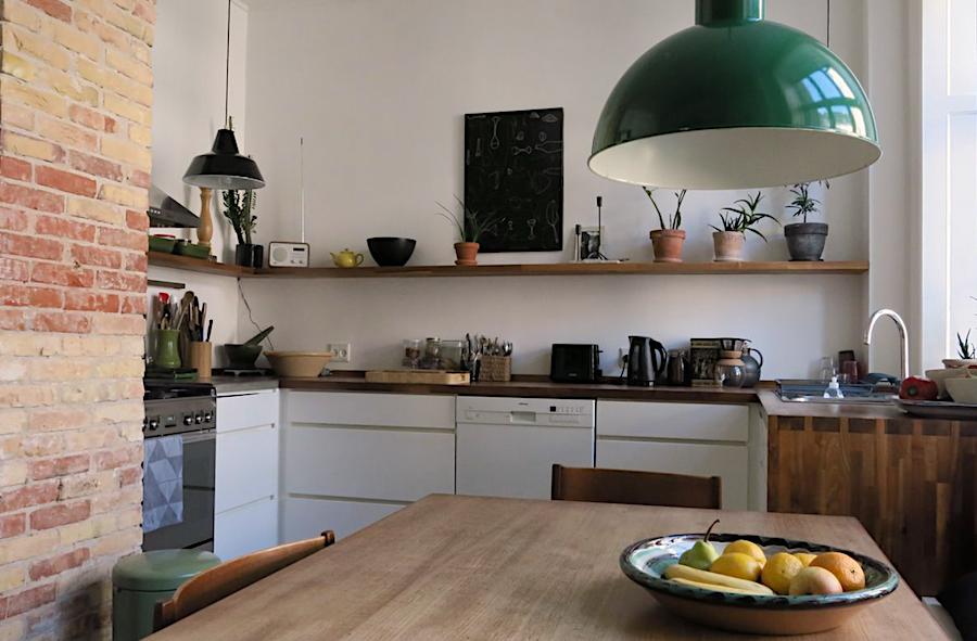 Die Küche in der Østerbro Wohnung